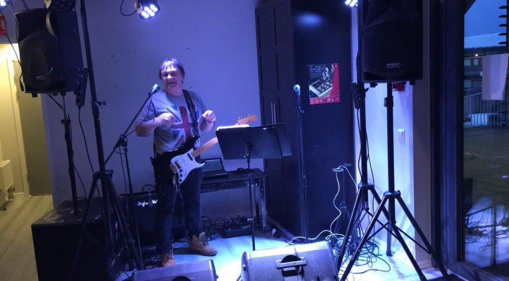 EVO partyduo møteplassen raymond holmen lydprøve