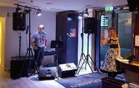 EVO partyduo møteplassen trøgstad lydprøve raymond holmen nina grobstok lunderby