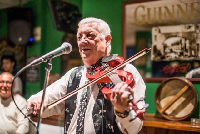 Brendan O'Brian Irsk trubadur fra Belfast som besøker Norge hvert år