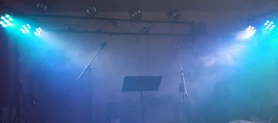 EVO partyduo øver med full PA