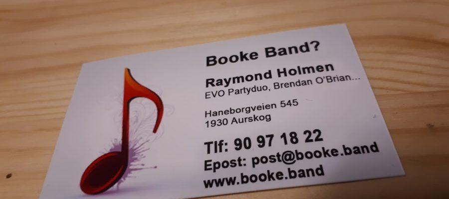 Booke.band visittkort
