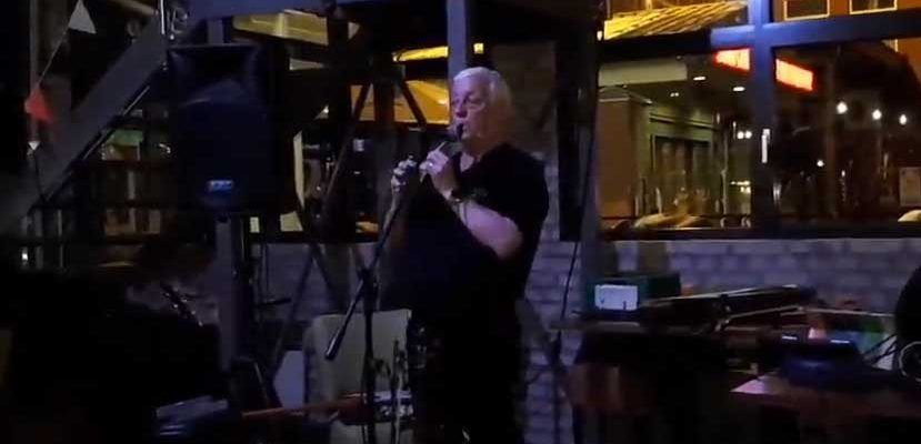 Brendan O'Brian irsk trubadur besøkte Norge Mars 2019 og spilte i Aurskog, Strømmen og Trøgstad