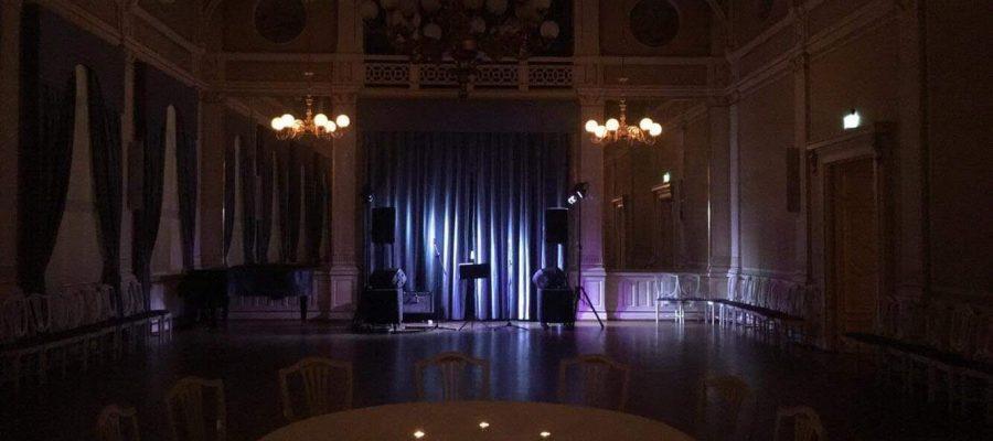 EVO Partyduo spiller variert dansemusikk i staselig selskapslokalet børsen i drammen buskerud
