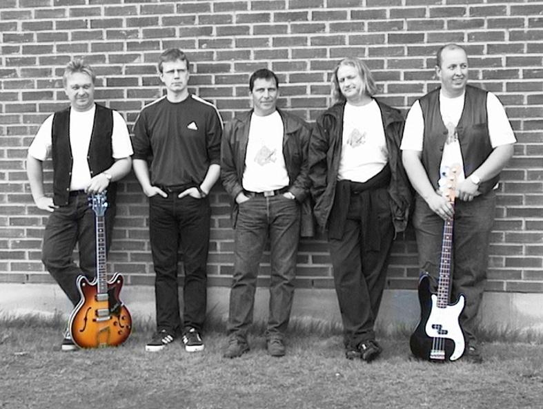Back To Basic bandet fotografert på Aurskog