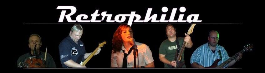 Coverbandet Retrophilia fra Aurskog