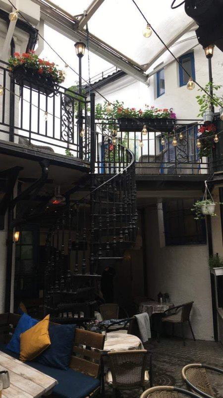 Stairway to heaven i en pub i Drammen