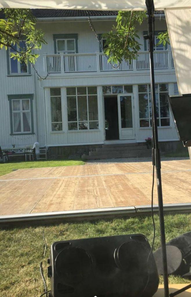 Utsikten fra scenen