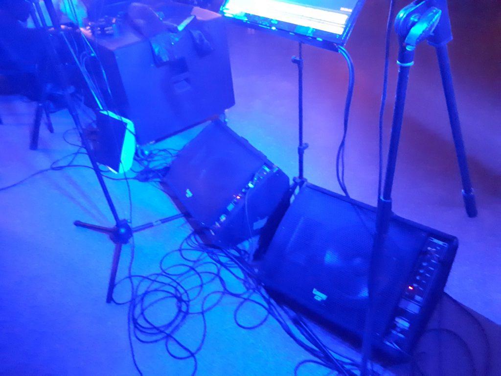 Kabelkrøll på scenen