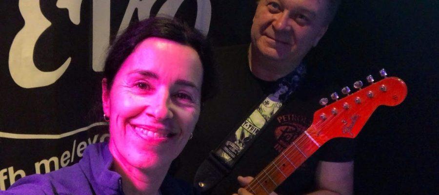 Hanne Boudreaux og Raymond Holmen i EVO Partyduo